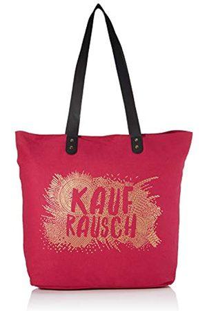 GRAFIK WERKSTATT Das Original Grafik Werkstatt Shopper Damen | Tasche | Shopping-Bag | Leinen | grau-gold | Kaufrausch