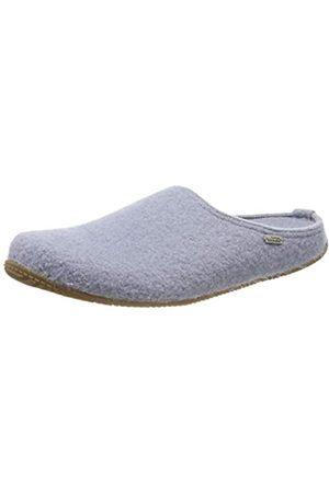 Living Kitzbühel Unisex-Erwachsene Pantoffel unifarben mit Fußbett Pantoffeln, (Pearl Blue 0512)