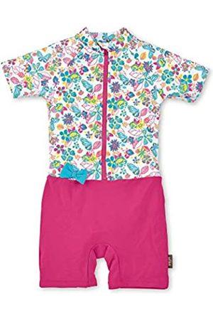 Sterntaler Baby-Girls Schwimmanzug One Piece Swimsuit, Weiss