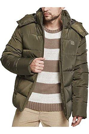 Urban classics Herren Hooded Puffer Jacket Jacke
