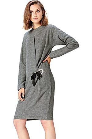 FIND Amazon-Marke: Kleid Damen asymmetrisches Design und Oversize-Passform, 38