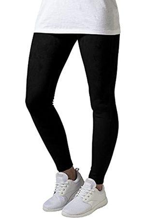 Urban classics Damen Ladies Imitation Suede Legging