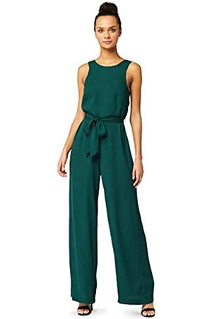 TRUTH & FABLE Amazon-Marke: Damen Ärmelloser Abend-Jumpsuit, 38