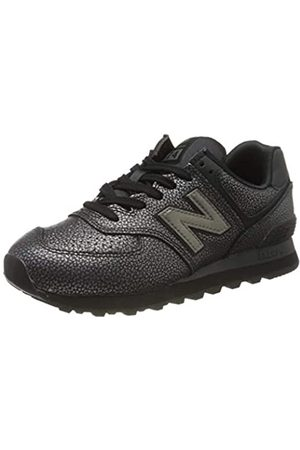 New Balance Damen 574v2 Sneaker, (Black Soh)
