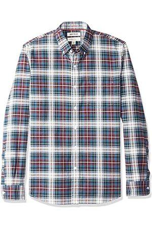 Goodthreads Amazon-Marke: Herren Oxford-Hemd, langärmlig, normale Passform, kariert