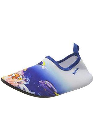 Playshoes Unisex-Kinder UV-Schutz Barfuß Unterwasserwelt Aqua Schuhe, ( 7)