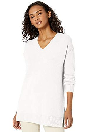 Daily Ritual Mid-Gauge Stretch V-Neck Sweater pullover-sweaters