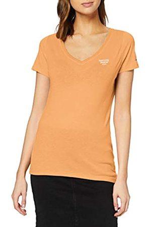 Tommy Hilfiger Damen Tjw Logo V-Neck Tee T-Shirt