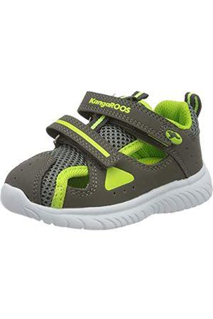 KangaROOS Unisex Baby KI-Rock Lite V Sneaker, (Steel Grey/Lime 2014)