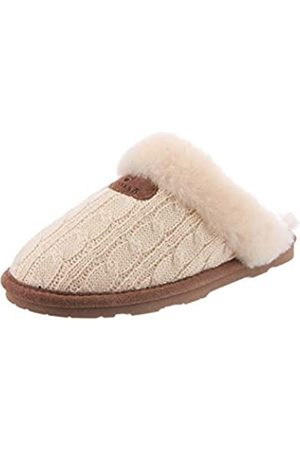 Bearpaw Damen Effie Pantoffeln, (Linen 379)