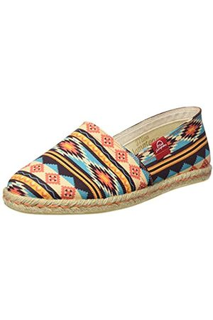 Miss Hamptons Damen New Mexico Espadrilles, Mehrfarbig (Muticolor)