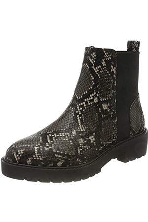 Steve Madden Damen Gliding Bootie Chelsea Boots, Mehrfarbig (Grey Snake 004)