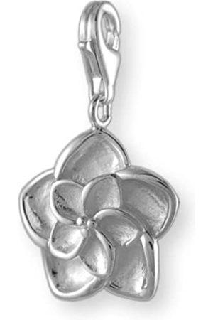 Melina Damen-Charm Anhänger Blume 925 Sterling Silber 1801310
