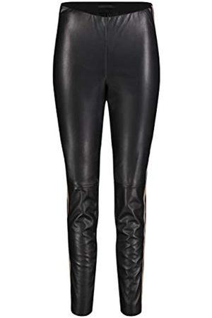 Mac Damen Hose New Legging Leather Galloon Vegan Leather 44/28