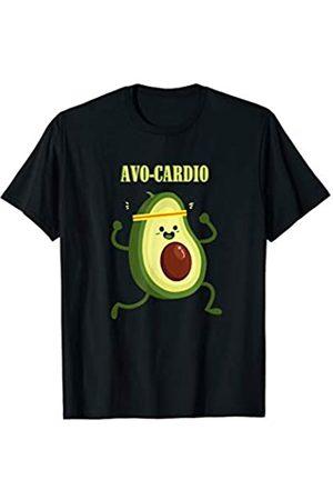 Wowsome! Avo-Cardio Funny Avocado Fitness T-Shirt