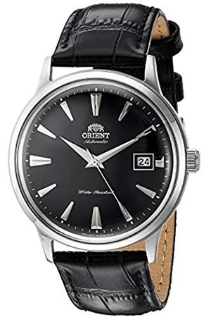 Orient Unisex Erwachsene Analog Automatik Uhr mit Leder Armband FAC00004B0