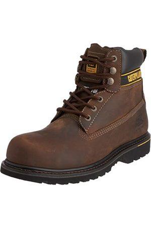 Cat Footwear Herren Holton Sb Sicherheitsschuhe, (Dark Brown)