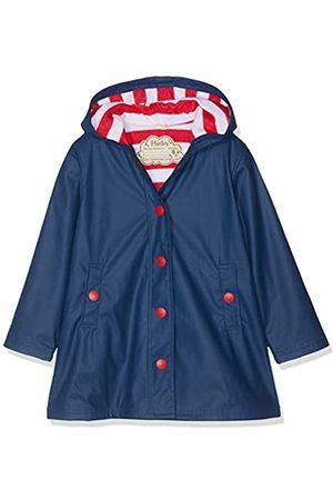 Hatley Mdchen Splash Jacket - Navy (Girls) Regenmantel