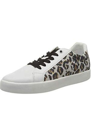 Marco Tozzi Damen 2-2-23719-24 Sneaker, (White/Leo 146)