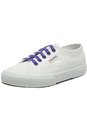 Superga Unisex-Erwachsene 2750-cotcontrastu Gymnastikschuhe, (White/Violet Purple A0b)