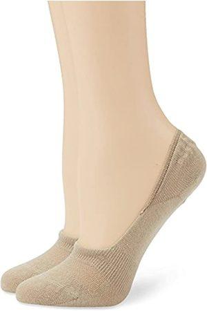 Camano Unisex 2er Pack Füßlinge aus Baumwolle Damen & Herren Zehensocken ohne Rutschen