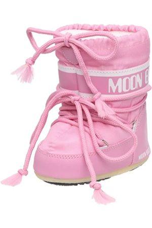 Moon Boot Tecnica MINI NYLON , Baby Mädchen Lauflernschuhe, Pink (Pink 063)