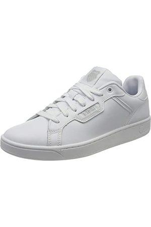K-Swiss Herren CLEAN Court II CMF Sneaker, (White/White/Gulgry 141)