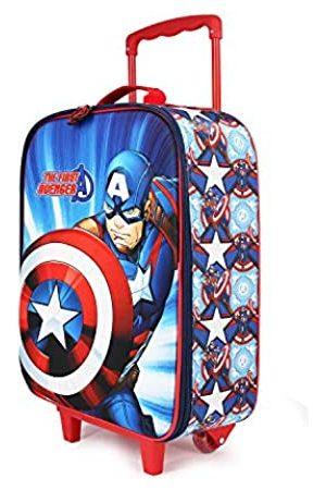 KARACTERMANIA Captain America First-Soft 3D Trolley-Koffer