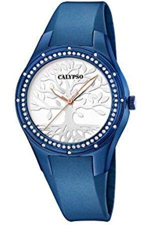 Calypso Damen Uhren - Damen Analog Quarz Uhr mit Plastik Armband K5721/C