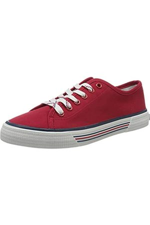 TOM TAILOR Damen 8095305 Sneaker, (Red 00004)