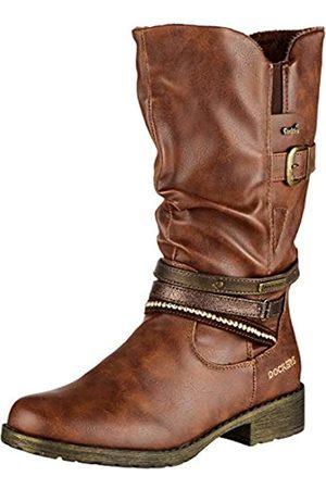 Dockers Unisex-Kinder 43HY709 Klassische Stiefel, (Cafe 320)