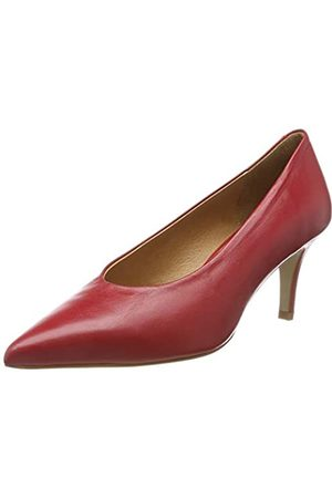 L'INTERVALLE Damen Melody Pumps, (Red Leather 004)