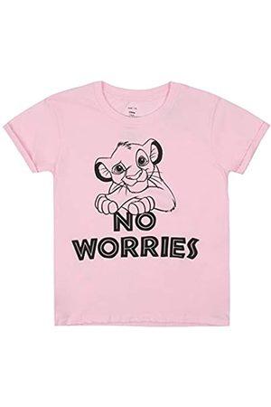 Disney Mädchen Lion King NO Worries T-Shirt
