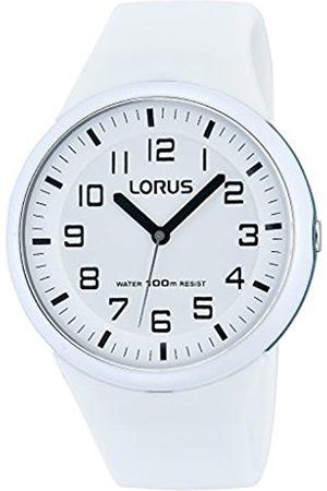 Lorus Damen Uhren - Fashion Damen-Uhr Edelstahl und Kunststoff mit Silikonband RRX53DX9