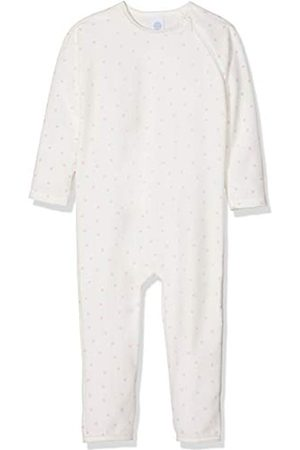Sanetta Baby-Mädchen Overall Long Schlafstrampler