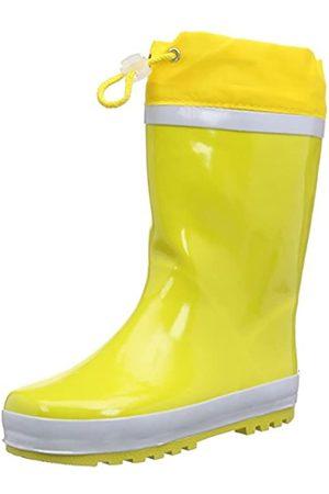 Playshoes Kinder Gummistiefel aus Naturkautschuk, warme Unisex Regenstiefel mit Innenfutter, ( 12)