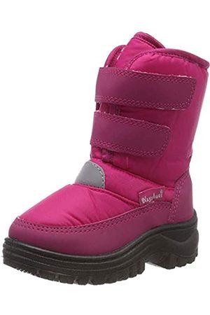 Playshoes GmbH Unisex-Kinder Velcro Schneestiefel, Pink (Pink 18)