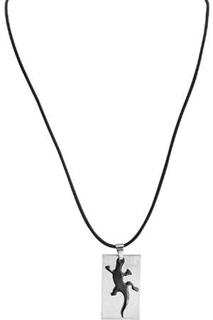 Akzent Damen-AnhngerEdelstahlmitKautschukkette50cm002500000107