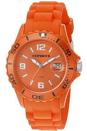 CEPHEUS Damen Uhren - Damen-Armbanduhr Analog Quarz Silikon CP603-090E