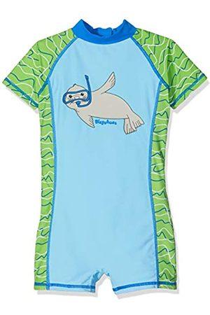 Playshoes Baby-Jungen UV-Schutz Einteiler Robbe Badehose