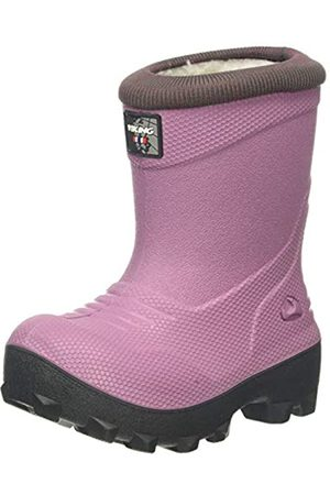 Viking Unisex-Kinder Frost Fighter Schneestiefel, (Violet/Charcoal 2177)