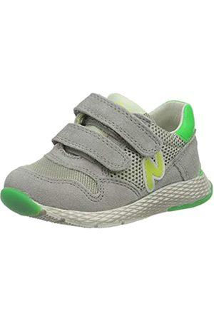 Naturino Jungen Sammy. Sneaker, (Grigio-Verde Fluo' 1B64)