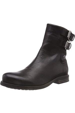 Sneaky Steve Damen Coney Biker Boots, (Black 4c4c4c)
