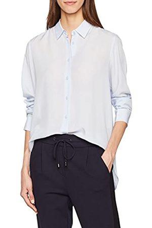 Filippa K Damen High-Low Tencel Shirt Bluse, (Skylight)