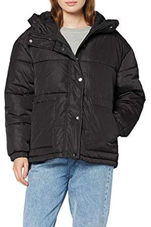 Urban classics Damen Ladies Oversized Hooded Puffer Jacke