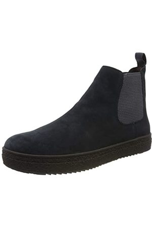 Stonefly Herren Voyager Velour Shade Chelsea Boots, (Night Blue 131)