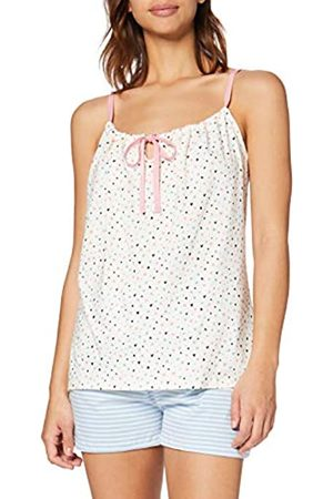 People Tree Peopletree Damen Heart Print Camisole Schlafanzugoberteil