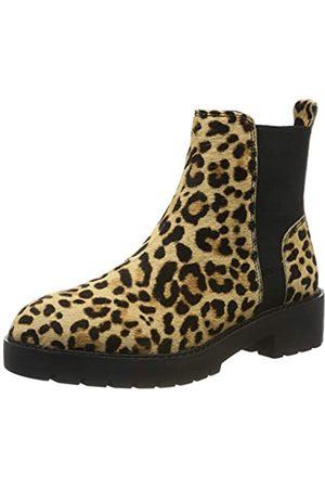 Steve Madden Damen Gliding Bootie Chelsea Boots, Mehrfarbig (Leopard 969)