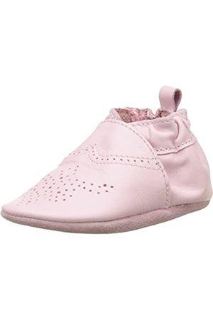 Robeez Unisex Baby Chic & Smart Krabbelschuhe, (ROSE CLAIR)