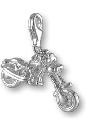 Melina Damen-Charm Anhänger Chopper Motorrad 925 Sterling Silber 1801156